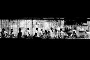 Mumbai, India, 2017, a photograph from Alan Schaller's Metropolis series