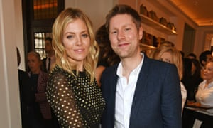 Christopher Bailey with Sienna Miller