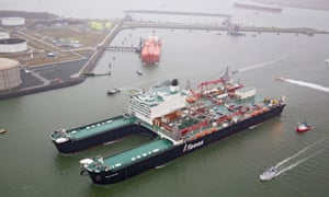 Pioneering Spirit (formerly Pieter Schelte) is the largest construction vessel ever built.