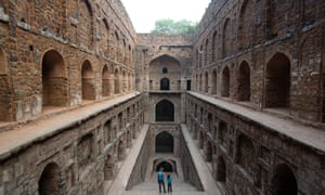 Agrasen ki baoli, a traditional stepwell in the centre of Delhi dates back to the 14th century, but it has dried up because of a lack of groundwater.