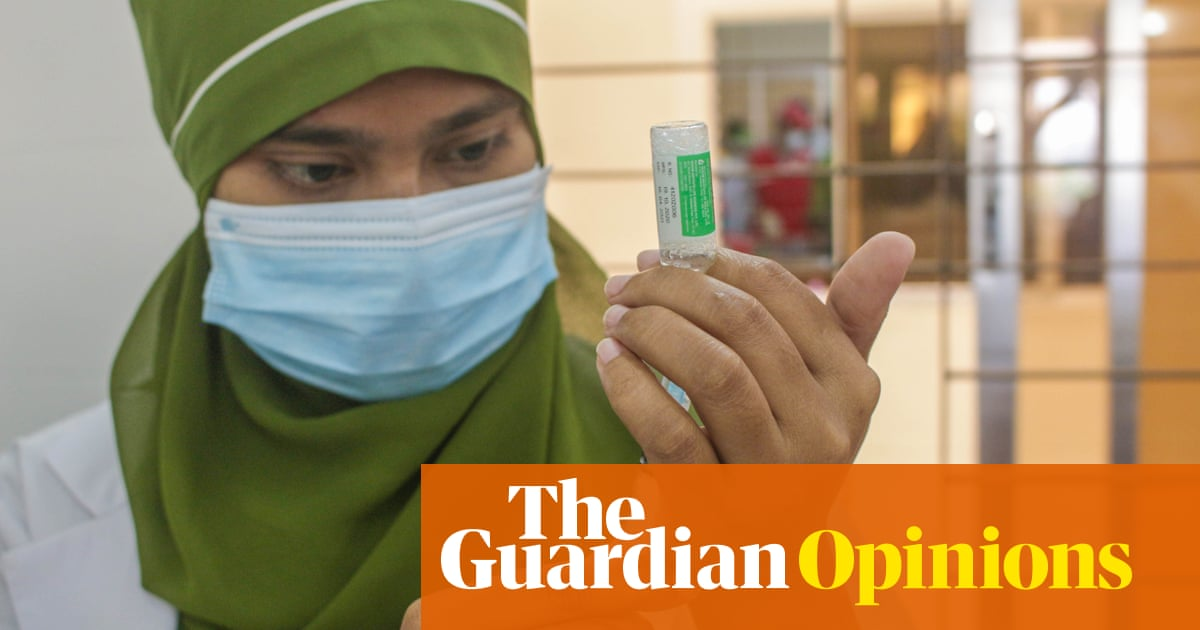 The world is desperate for more Covid vaccines – patents shouldn't get in the way