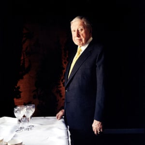 'His hand on the table looked like a claw' … Augusto Pinochet at the Dorchester hotel, London, in 1998.