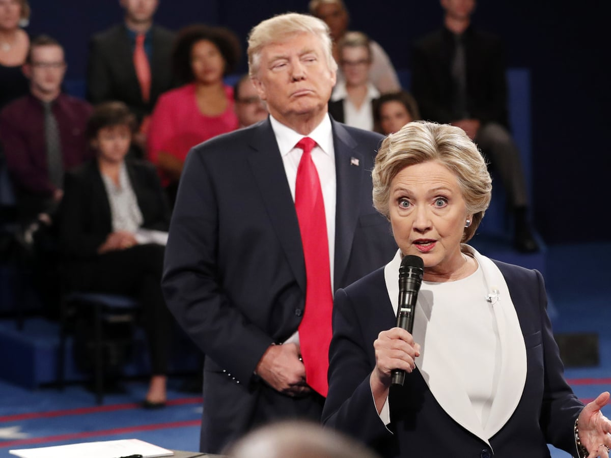 Hillary Clinton Trump Inaugural Speech Was Cry From The White Nationalist Gut Hillary Clinton The Guardian