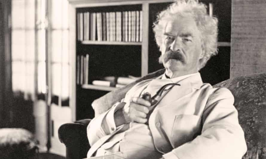 American writer and satirist Samuel Langhorne Clemens, known by pen name Mark Twain.