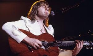 Greg Lake performing in 1974