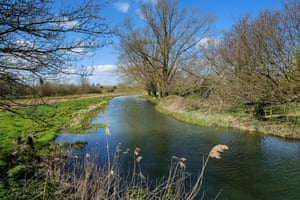 The gently flowing River Bure meanders through parts of North Norfolk on route to the Norfolk Broads