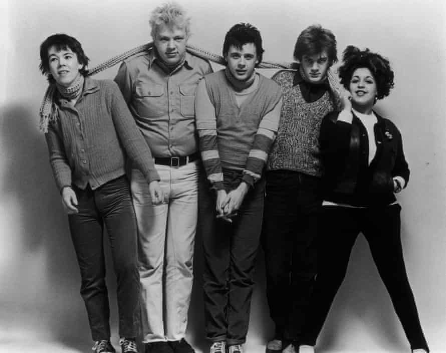 Poly Styrene with her X-Ray Spex bandmates in 1978.