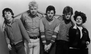 X-Ray Spex in 1978. From left: Paul Dean, BP Hurding, Jak Airport, Rudi Thompson and Poly Styrene.