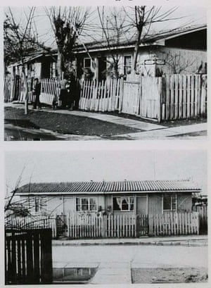 Newly constructed houses, built as a result of Operation Site, in 1965.