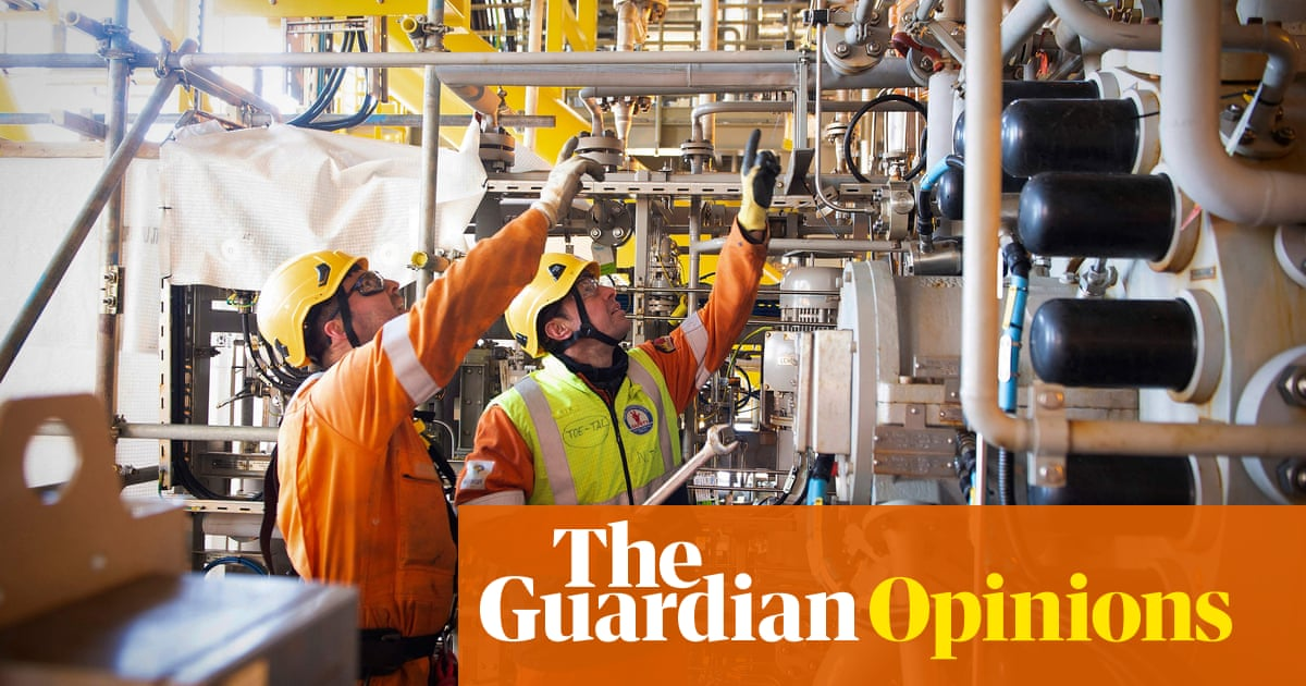 Britain's oil and gas workers want a green transition – but the industry doesn't
