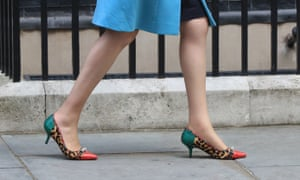 33a7724a23dc2 Ditch high heels to promote equality at work, Theresa May told ...