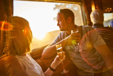 The food, wine and top-class service make the Ghan an unforgettable travel experience.
