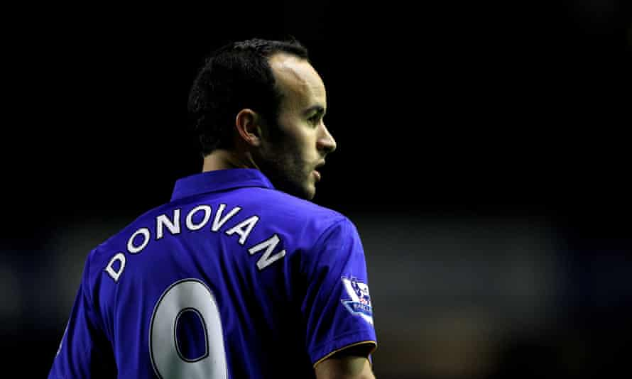 Everton hope links to American players such as Landon Donovan will help their popularity across the Atlantic