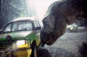 Still from the film Jurassic Park