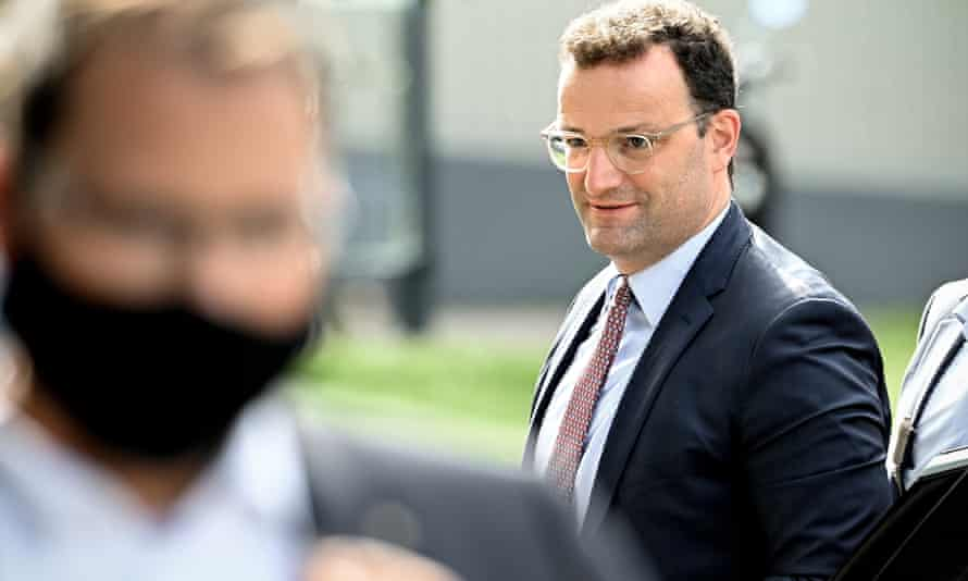 Jens Spahn visits St Josef hospital in Bochum on Tuesday