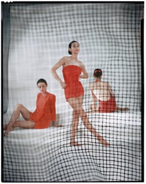 A variation of a photograph published in US Vogue in May, 1946