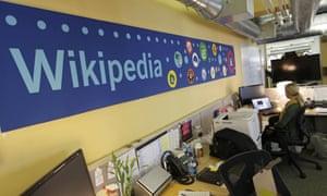 Wikimedia Foundation office in San Francisco, US.