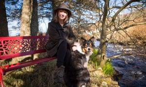Sharon Blackie and dog.