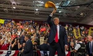Donald Trump in Ambridge, Pennsylvania