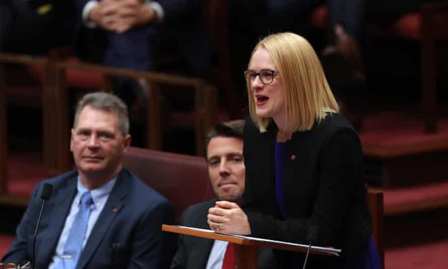 Amanda Stoker makes her first speech in the Senate on 20 June 2018