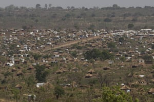 The Bidi Bidi refugee camp in Uganda is home to about 274,000 people, making it the largest camp in the world.