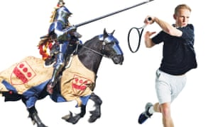 bored with the gym why jousting is the ultimate workout life and