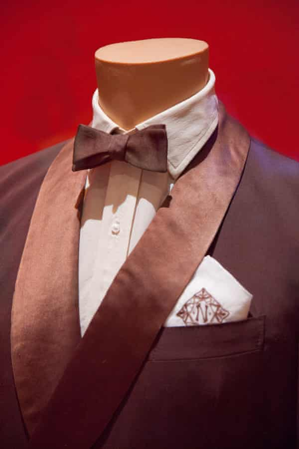 The suit, and monogrammed handkerchief, worn by Coward in the 1968 movie Boom!