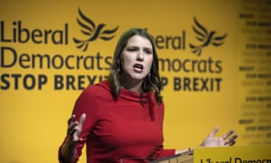 Jo Swinson, new leader of the Liberal Democrats, says she will explore all ideas to stop Brexit