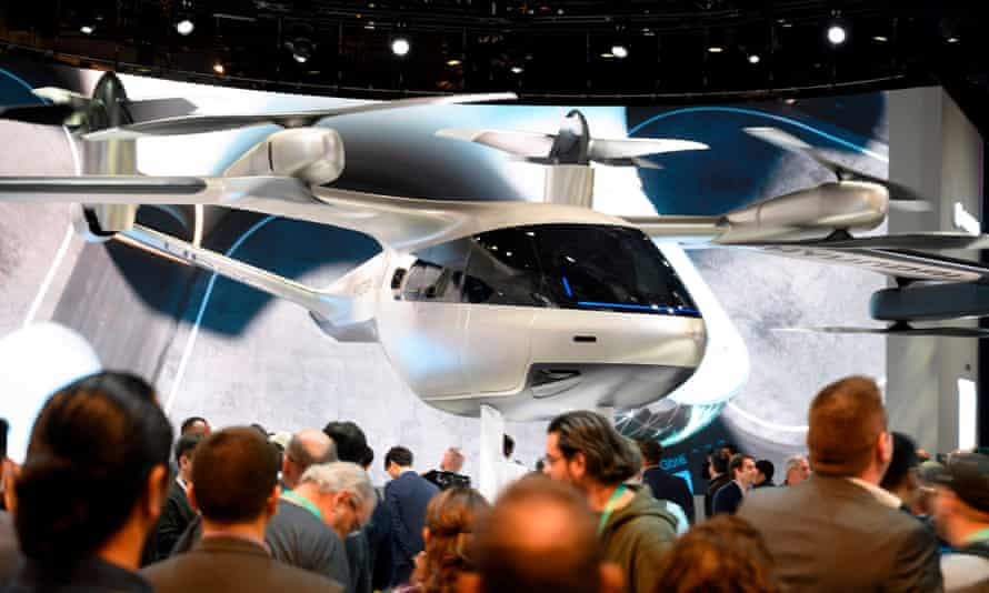 A Hyundai S-A1 electric Urban Air Mobility concept