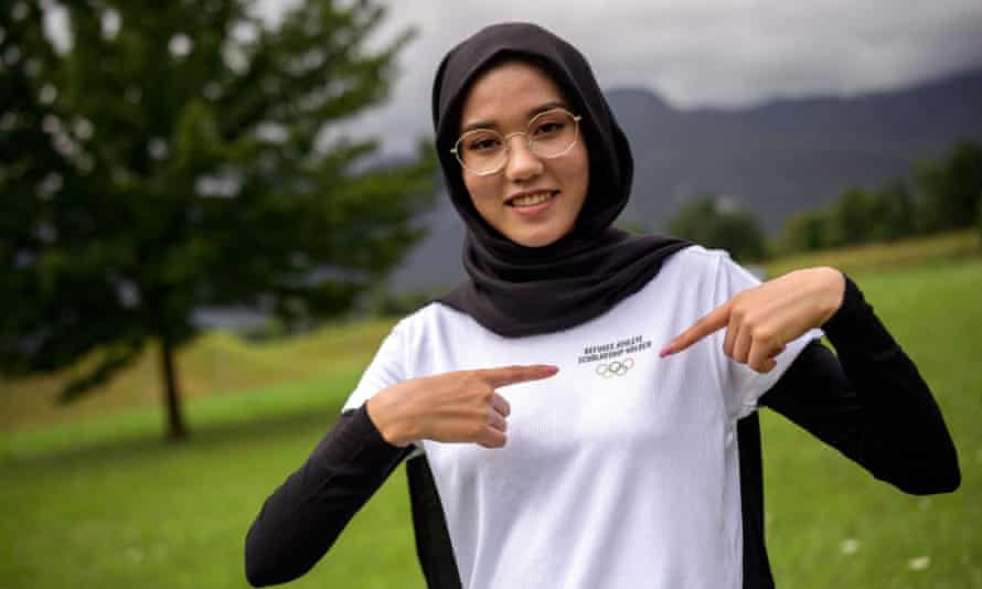 Afghan road cyclist Masomah Ali Zada will compete at the Tokyo Olympics this week as part of the Refugee Olympic Team.