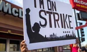 Fast Food Workers Stage Nationwide Protests