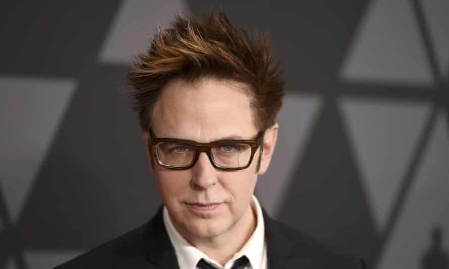James Gunn in 2017. He said he took 'full responsibility' for his tweets.