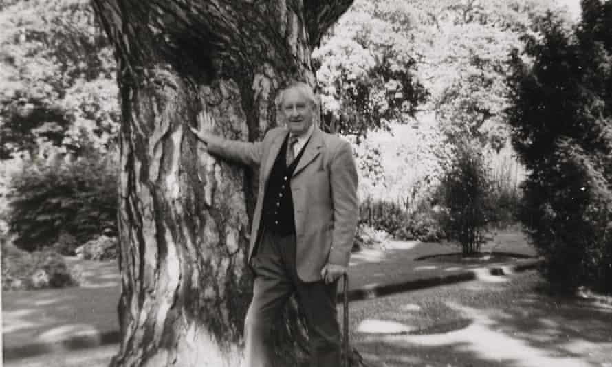 JRR Tolkien in 1973