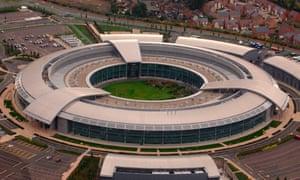 The headquarters of GCHQ in Cheltenham