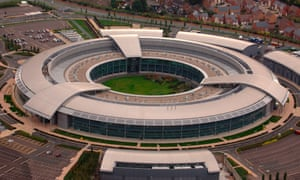 Secrets and spies … the GCHQ building in Cheltenham, Gloucestershire.