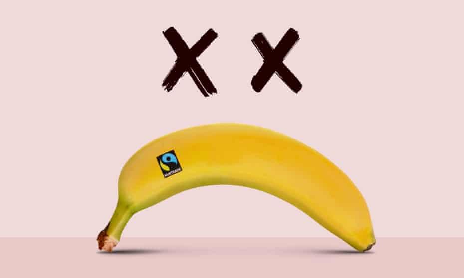 unhappy fairtrade Banana