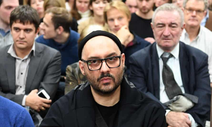 Russian stage and screen director Kirill Serebrennikov