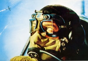 Christopher Plummer as Squadron Leader Colin Harvey in Battle of Britain, 1969