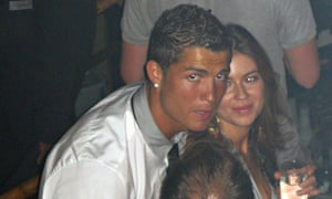 Cristiano Ronaldo with Kathryn Mayorga at Rain nightclub in Las Vegas, where she was working