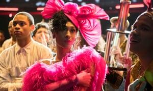 A joyful reminder of the mid-80s voguing scene … Blanca Rodriguez in BBC drama Pose.