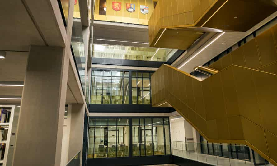 The new library at the University of Birmingham