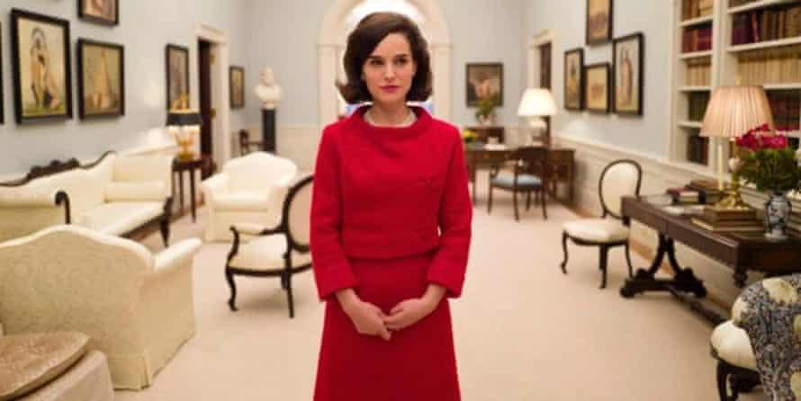 Jackie oooh ... Natalie Portman as Jackie Kennedy.
