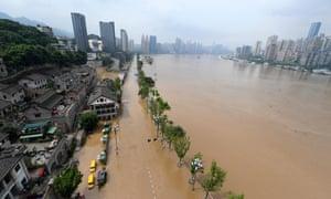 Flooding In Chongqing.