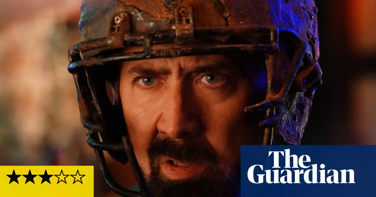 Prisoners of the Ghostland review – testicle-detonating Nicolas Cage sci-fi