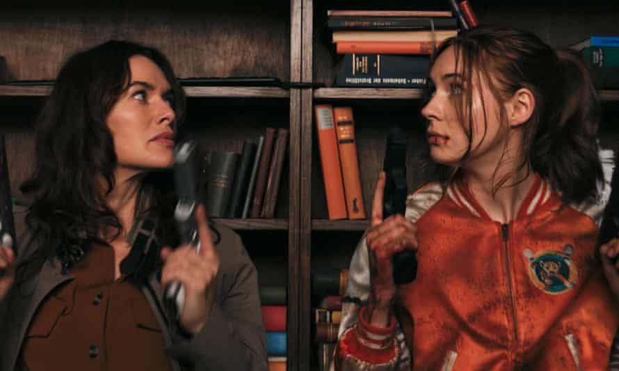 Lena Headey and Karen Gillan in Gunpowder Milkshake. There are certainly worse potential franchises on the horizon.