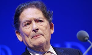 Institute of Directors annual conventionepa04965586 Former British Chancellor of the Exchequer Nigel Lawson, Lord Lawson of Blaby, speaks at the Institute of Directors annual convention at the Royal Albert Hall in central London, England, 06 October 2015. EPA/ANDY RAIN