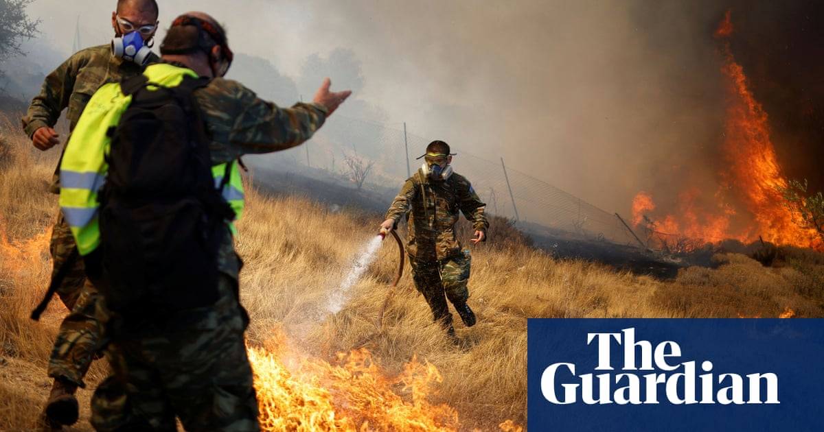 Two new wildfires in Greece trigger evacuation alerts for villages