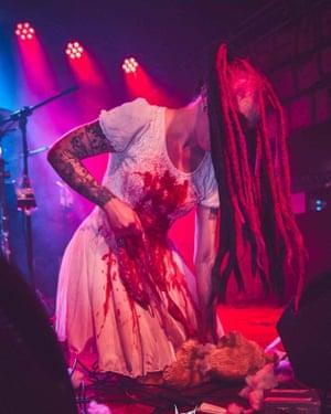 Blood and guts … Basement Torture Killings' 'Beryl' lets rip.