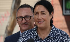 Alex Bhathal backed by Greens leader Richard Di Natale
