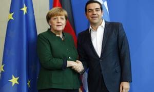 Tsipras held talks with Angela Merkel on Friday 16 December.